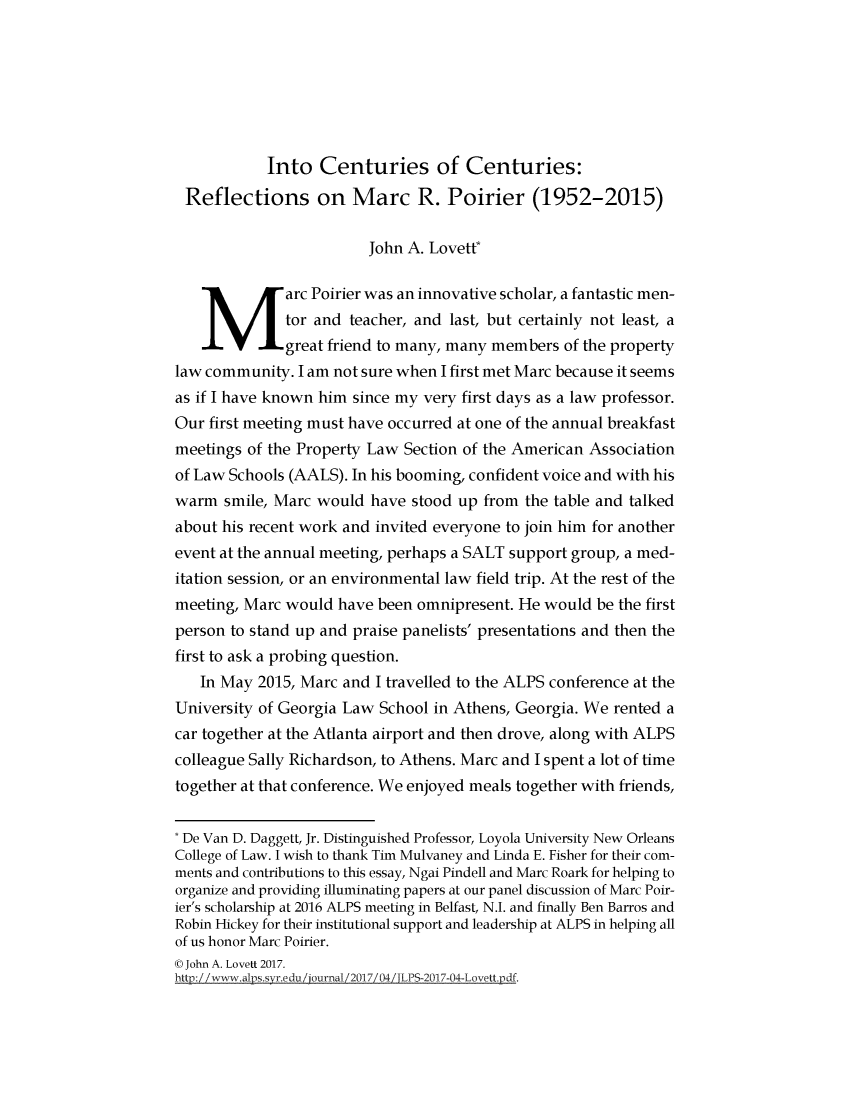 handle is hein.journals/jlpros3 and id is 1 raw text is: 