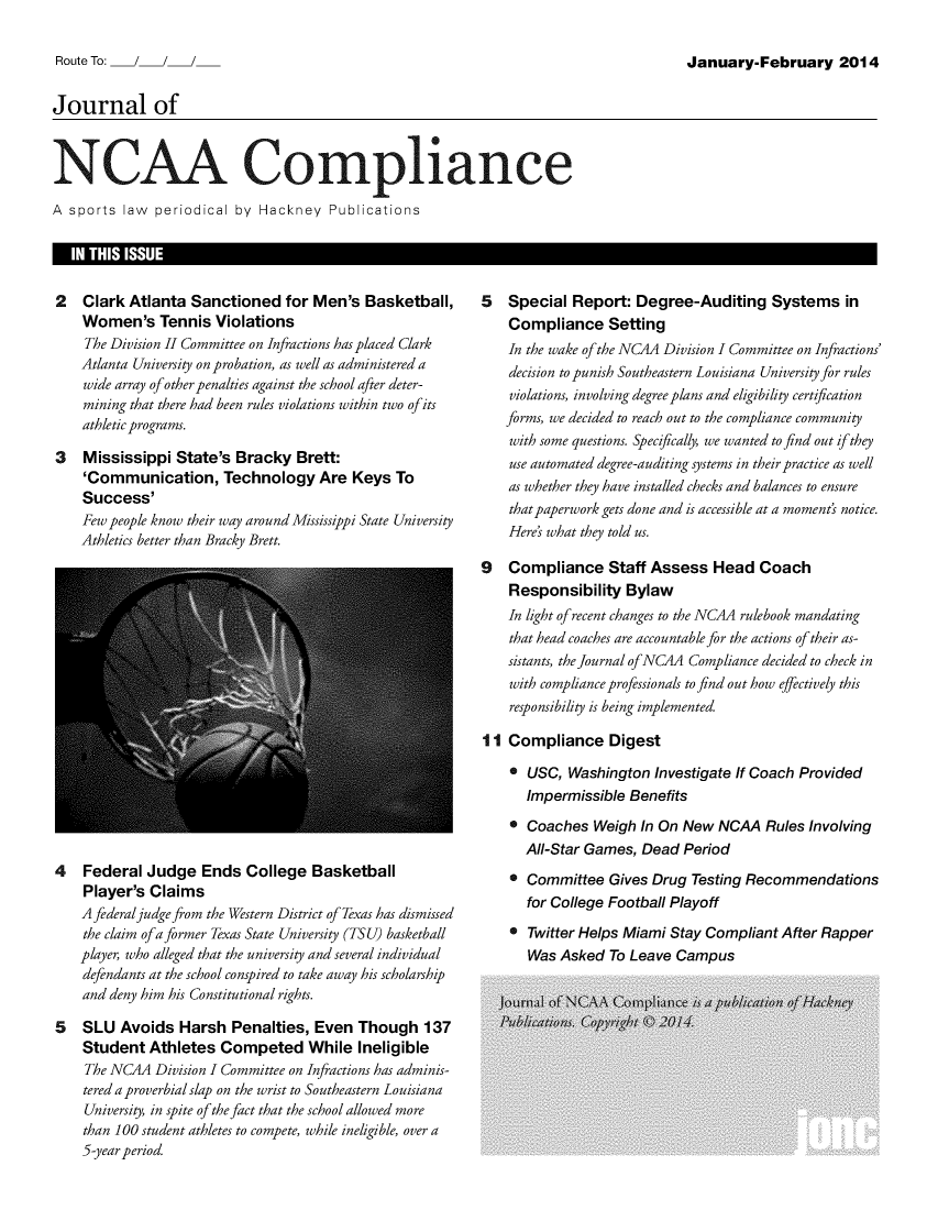 handle is hein.journals/jncaac7 and id is 1 raw text is: 