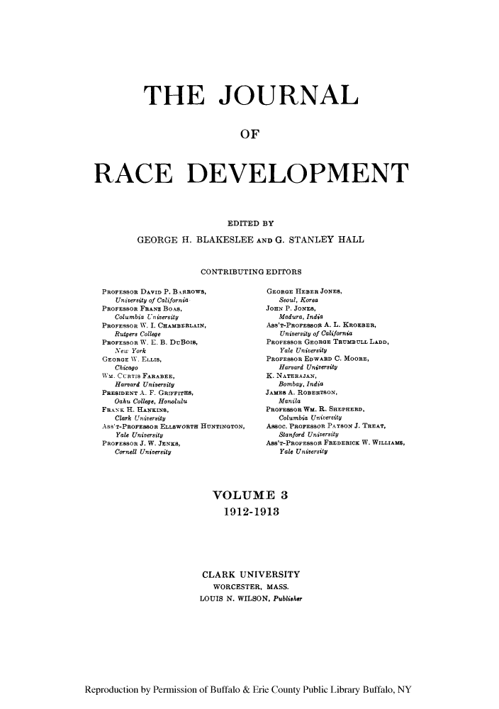 handle is hein.journals/jointrl3 and id is 1 raw text is: THE JOURNAL