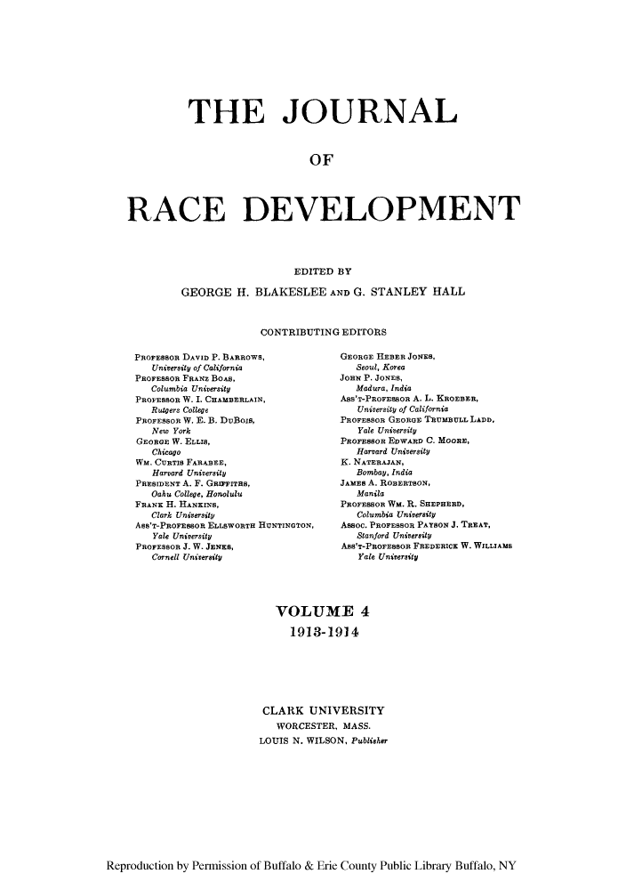handle is hein.journals/jointrl4 and id is 1 raw text is: THE JOURNAL