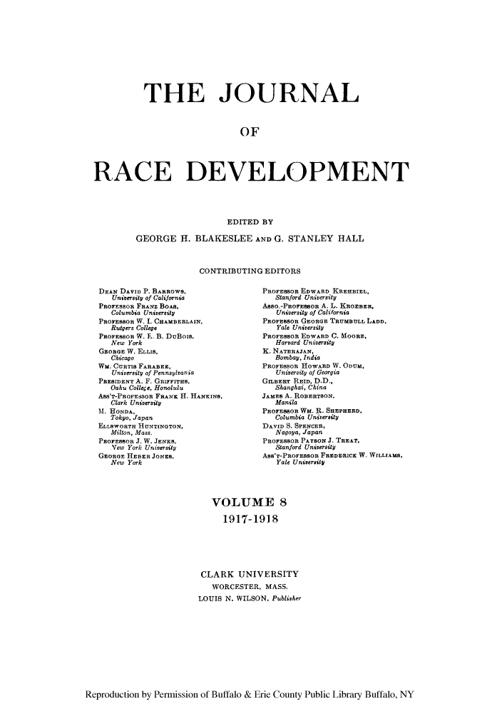 handle is hein.journals/jointrl8 and id is 1 raw text is: THE JOURNAL