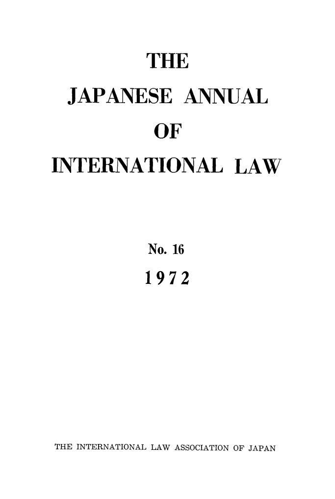 handle is hein.journals/jpyintl16 and id is 1 raw text is: 