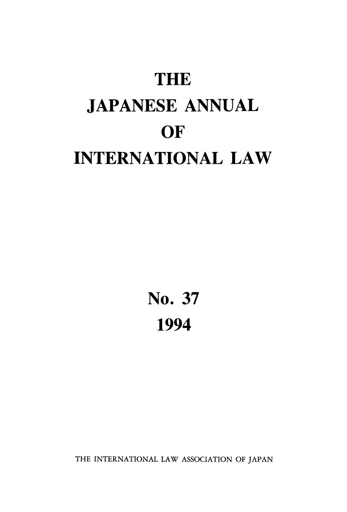 handle is hein.journals/jpyintl37 and id is 1 raw text is: THE