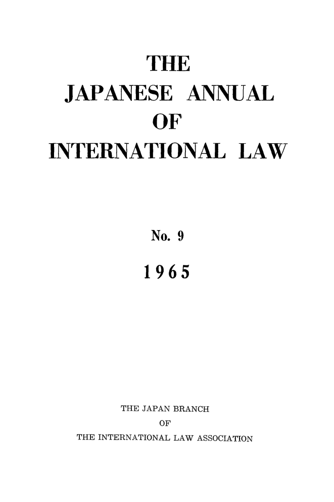 handle is hein.journals/jpyintl9 and id is 1 raw text is: 