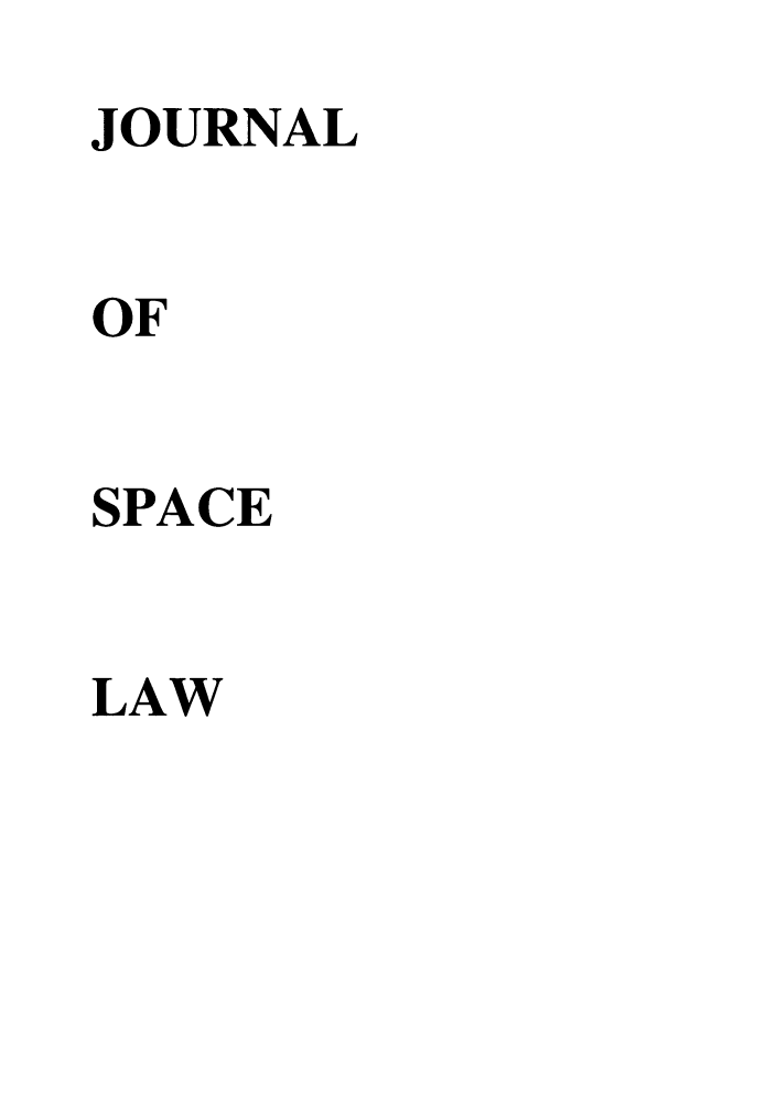 handle is hein.journals/jrlsl34 and id is 1 raw text is: JOURNAL