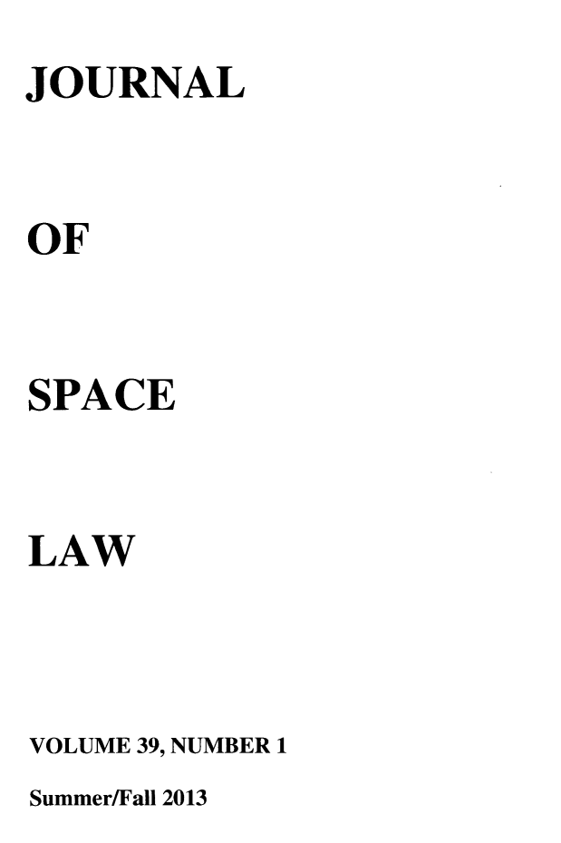 handle is hein.journals/jrlsl39 and id is 1 raw text is: 