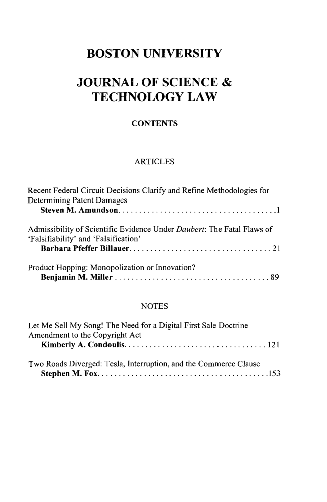 handle is hein.journals/jstl22 and id is 1 raw text is: 