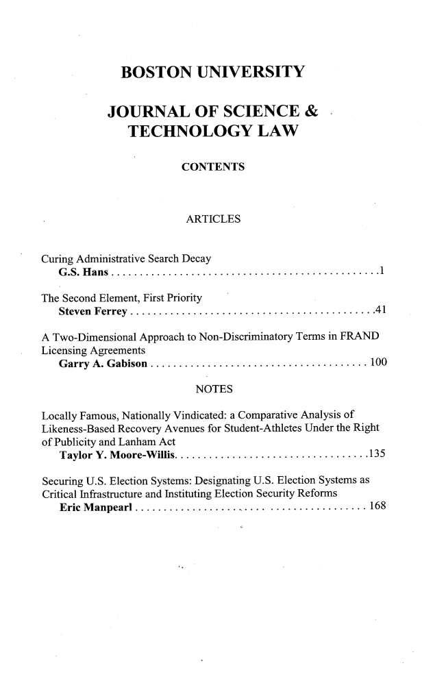 handle is hein.journals/jstl24 and id is 1 raw text is: 
