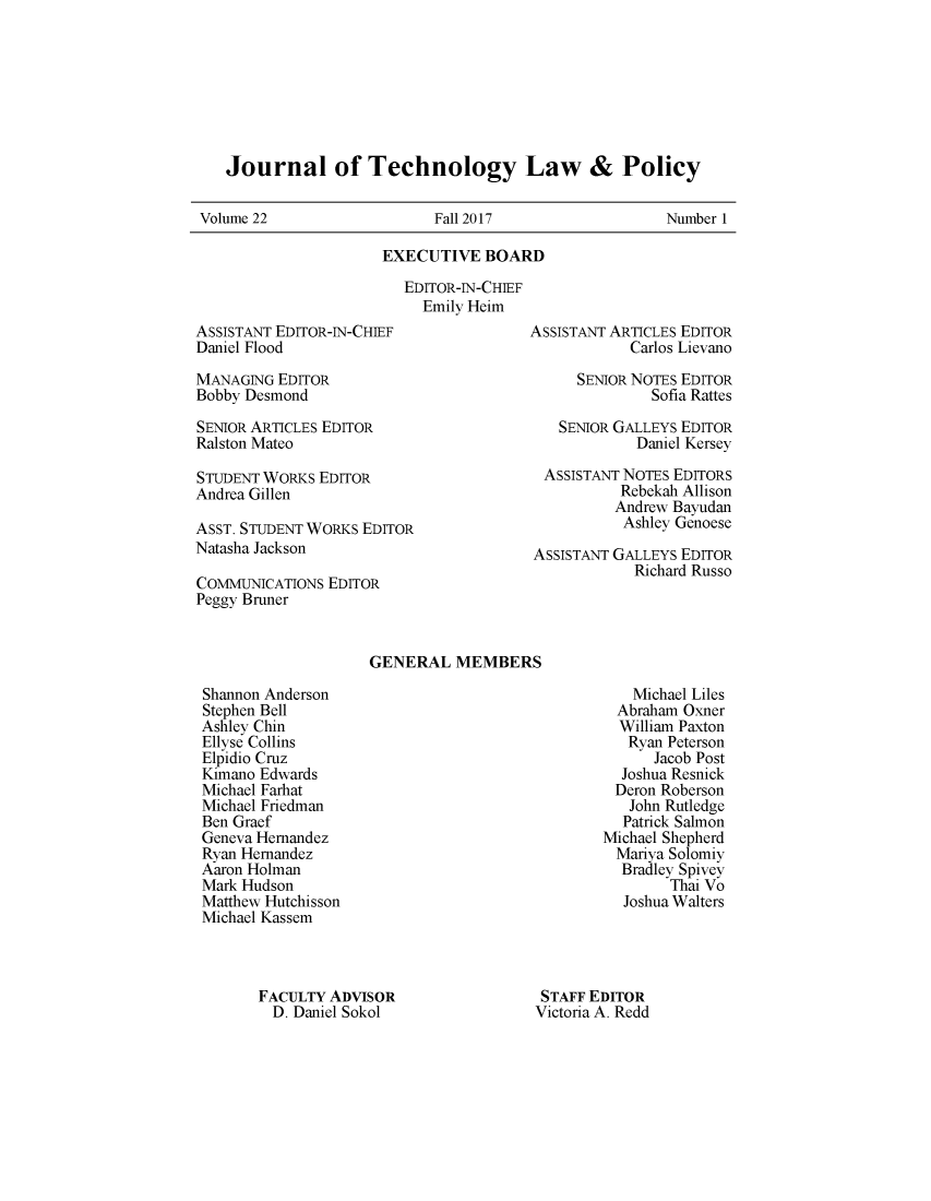 handle is hein.journals/jtlp22 and id is 1 raw text is: 