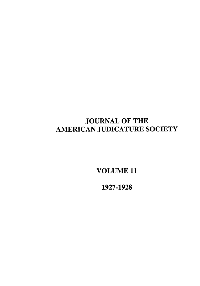 handle is hein.journals/judica11 and id is 1 raw text is: JOURNAL OF THE