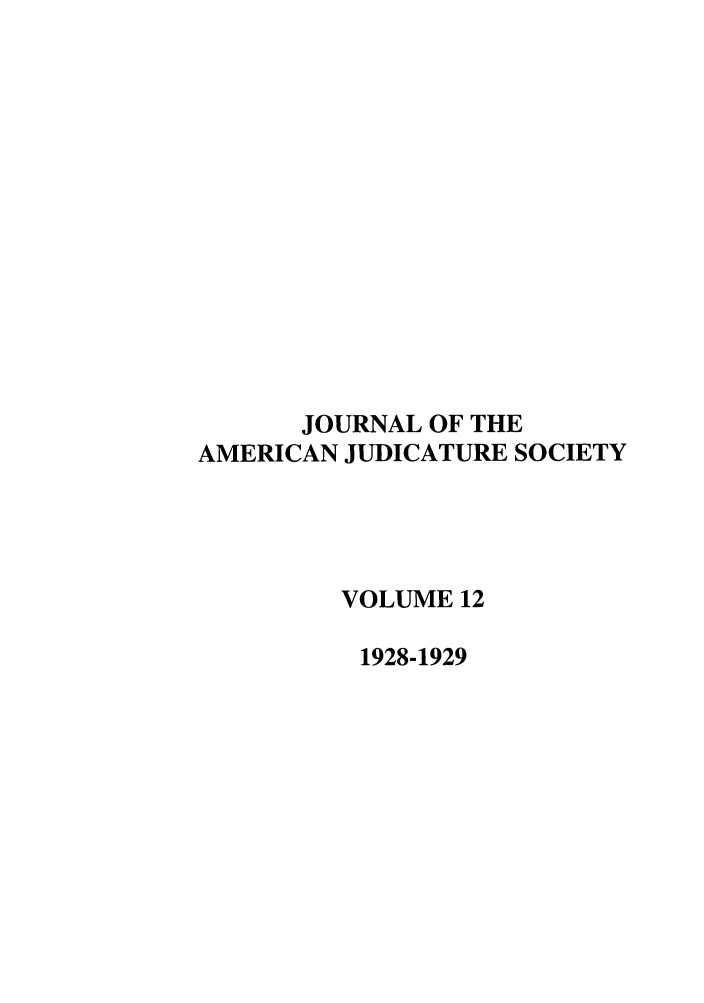 handle is hein.journals/judica12 and id is 1 raw text is: JOURNAL OF THE