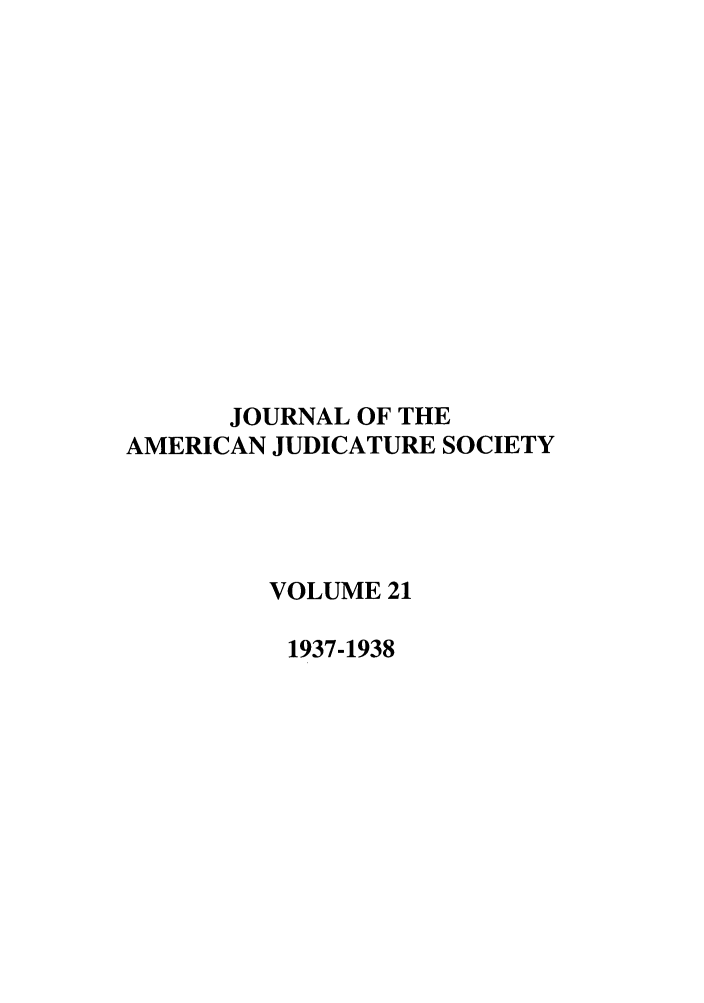 handle is hein.journals/judica21 and id is 1 raw text is: JOURNAL OF THE