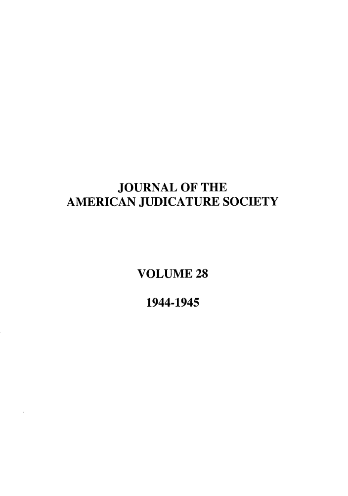 handle is hein.journals/judica28 and id is 1 raw text is: JOURNAL OF THE