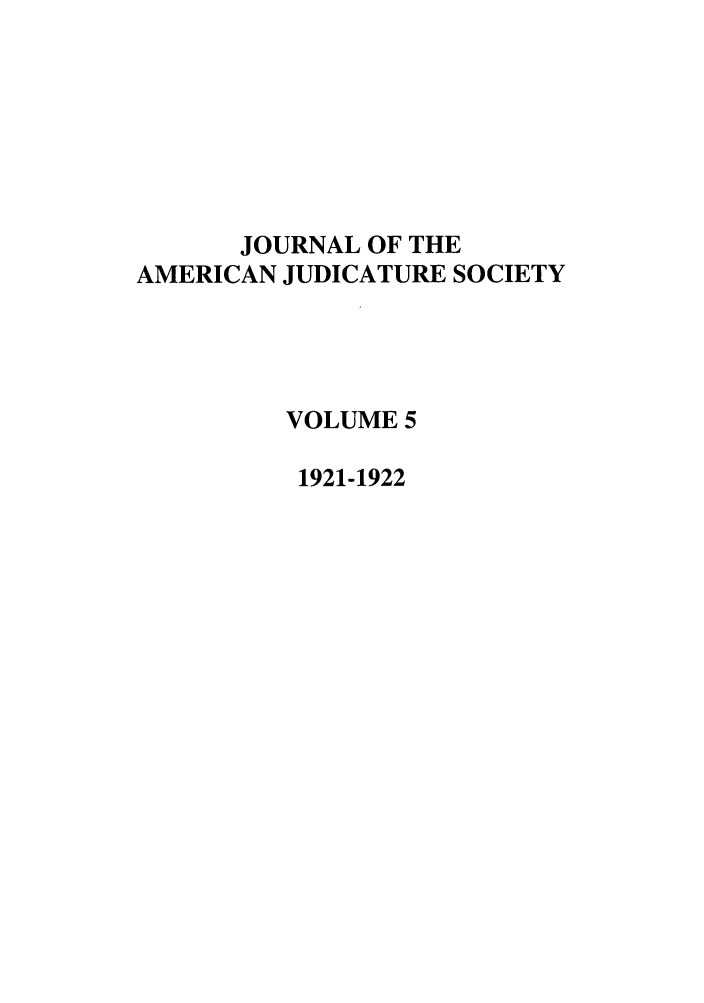 handle is hein.journals/judica5 and id is 1 raw text is: JOURNAL OF THE