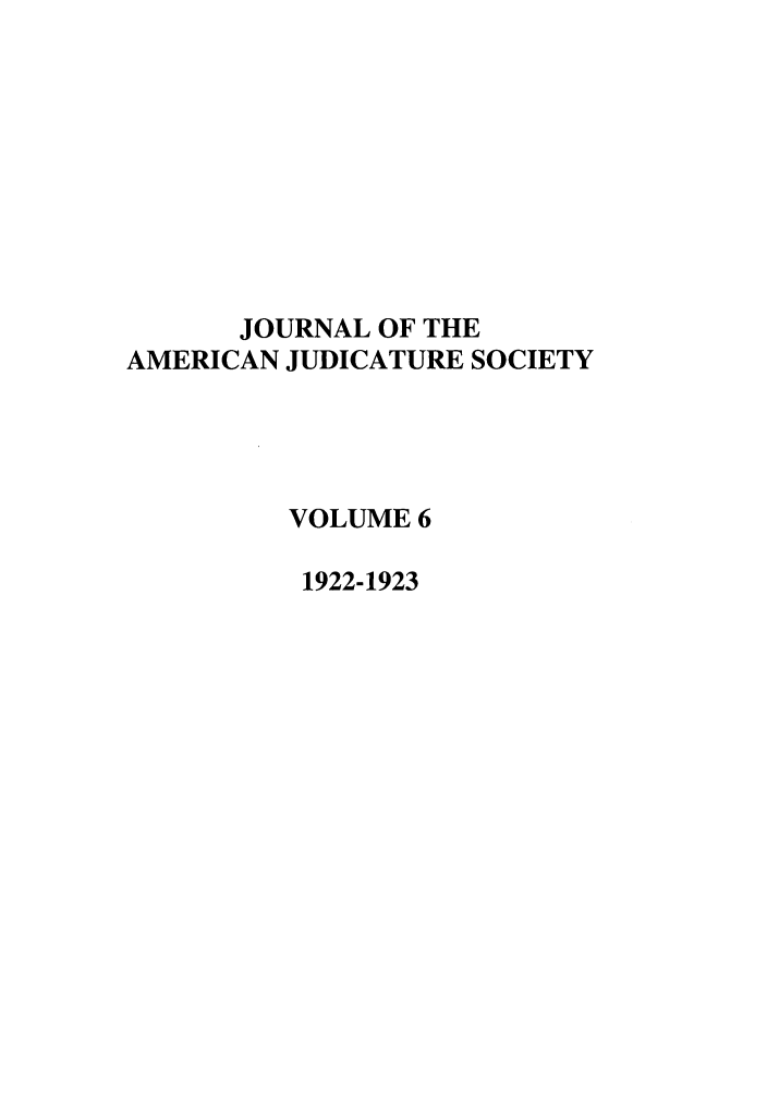 handle is hein.journals/judica6 and id is 1 raw text is: JOURNAL OF THE