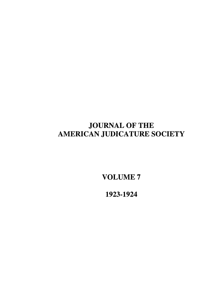 handle is hein.journals/judica7 and id is 1 raw text is: JOURNAL OF THE