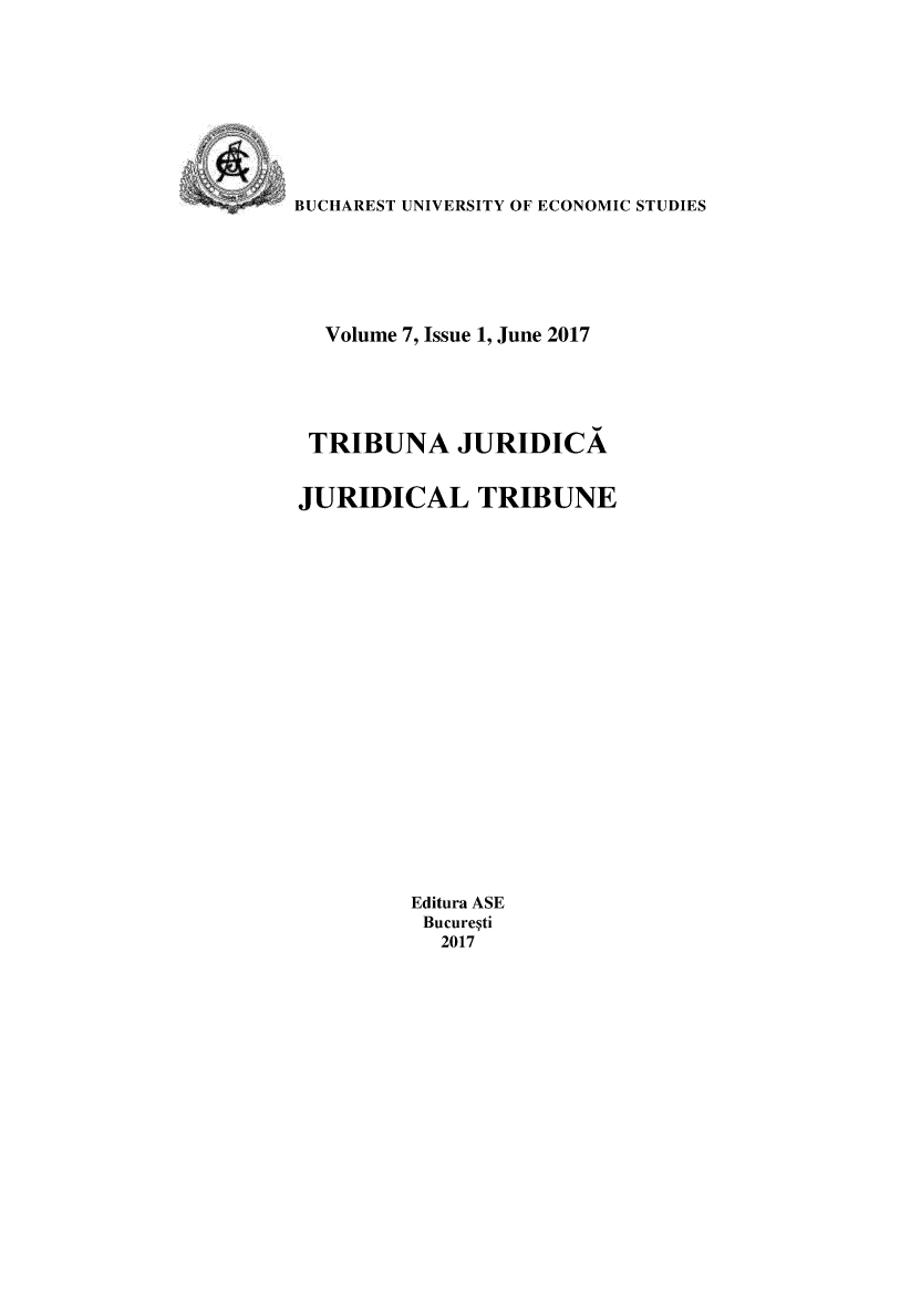 handle is hein.journals/juridtrib7 and id is 1 raw text is: 