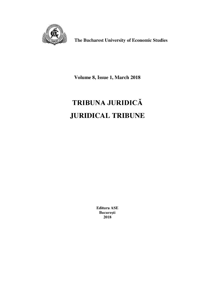handle is hein.journals/juridtrib8 and id is 1 raw text is: 