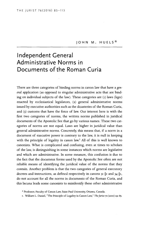 handle is hein.journals/juristcu76 and id is 91 raw text is: 