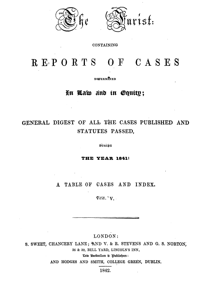 handle is hein.journals/jurlonos5 and id is 1 raw text is: 0 .7$f
