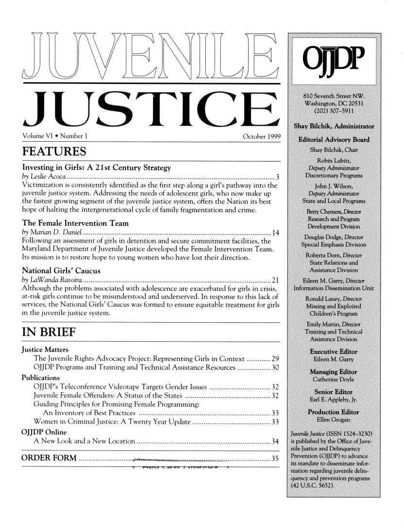 handle is hein.journals/juvejstc6 and id is 1 raw text is: 