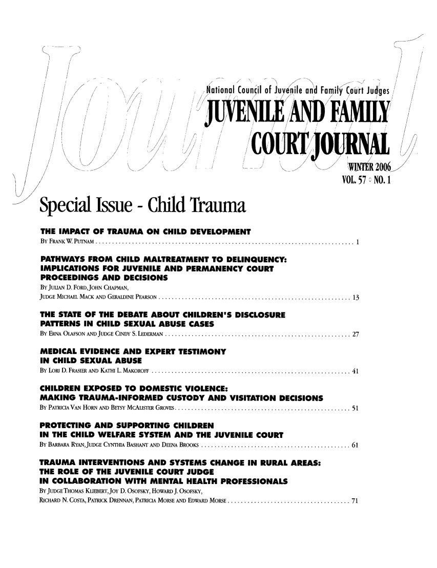 handle is hein.journals/juvfc57 and id is 1 raw text is: National Councdl of Juvenile and Family Court Judges