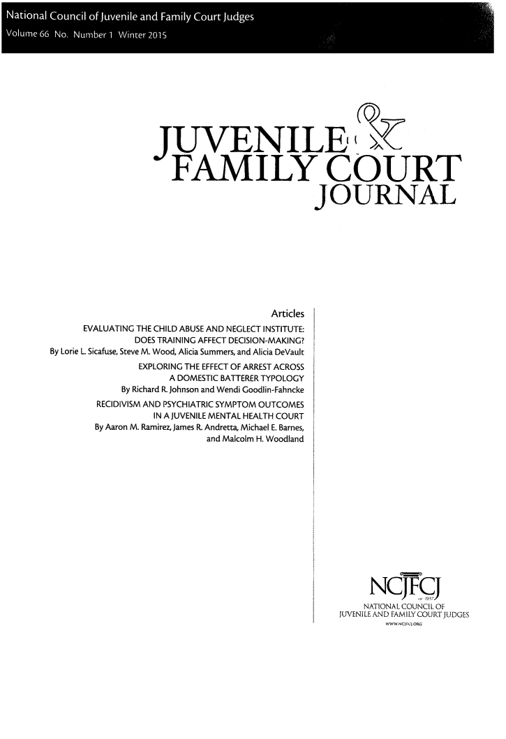 handle is hein.journals/juvfc66 and id is 1 raw text is: Naioa Coni of juenl an Fail Cour Judge
