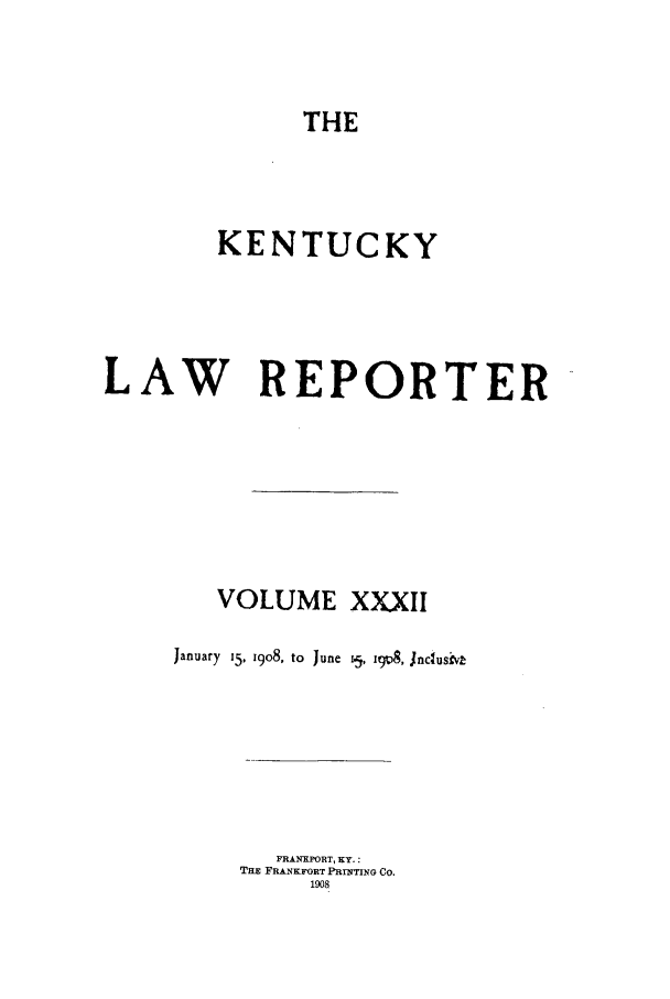 handle is hein.journals/kntwrep32 and id is 1 raw text is: THE
