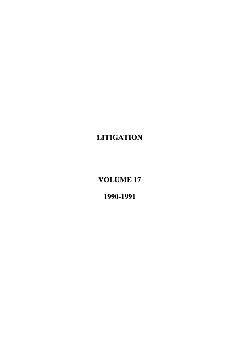 handle is hein.journals/laba17 and id is 1 raw text is: LITIGATION