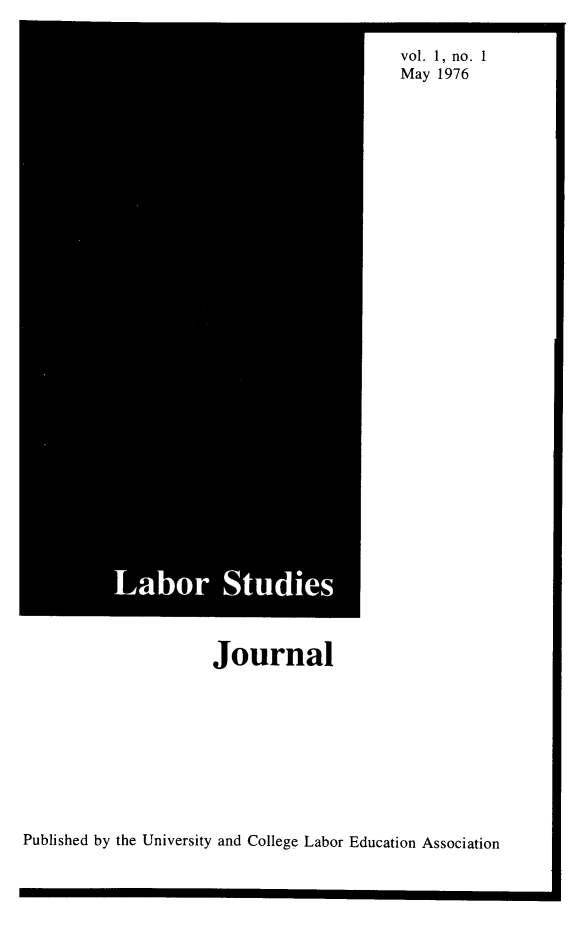handle is hein.journals/labstuj1 and id is 1 raw text is: 