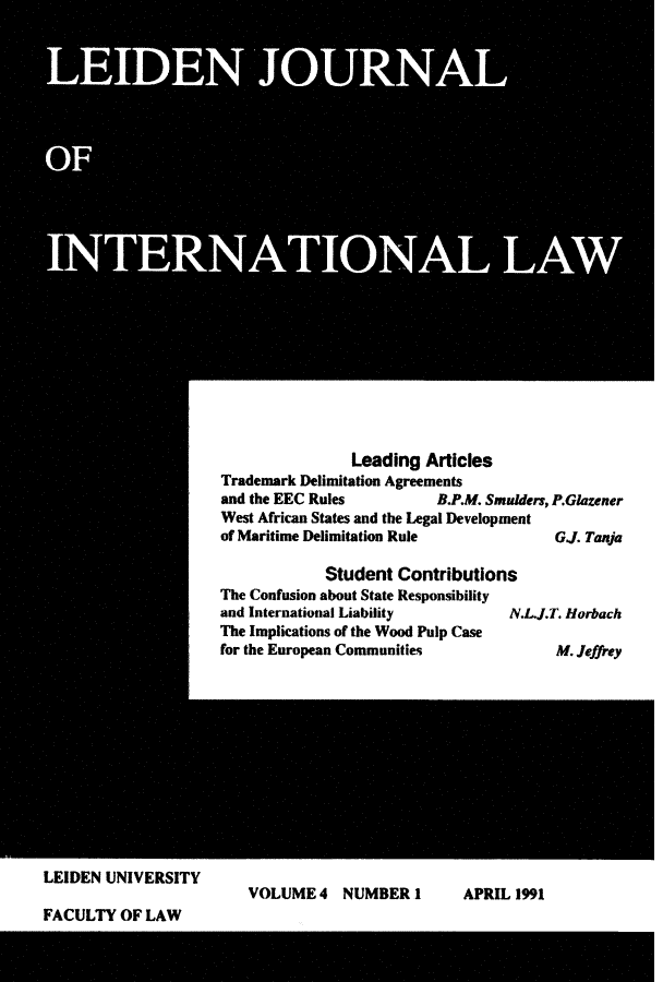 handle is hein.journals/lejint4 and id is 1 raw text is: 