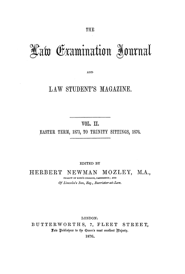 handle is hein.journals/lexajlsm2 and id is 1 raw text is: TIE