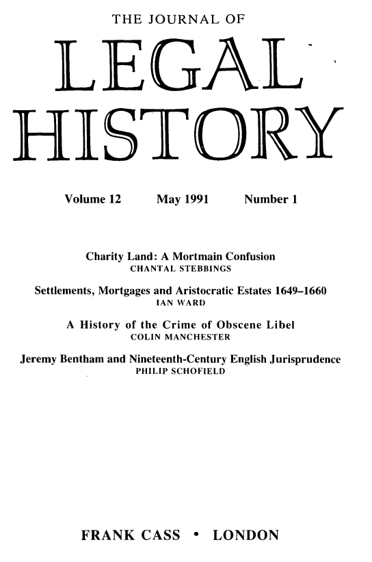 handle is hein.journals/lglhis12 and id is 1 raw text is: 