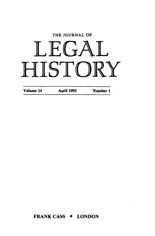 handle is hein.journals/lglhis14 and id is 1 raw text is: 
