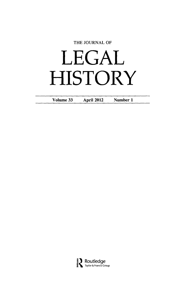 handle is hein.journals/lglhis33 and id is 1 raw text is: 