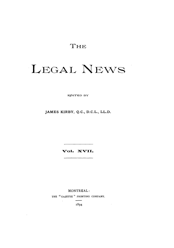 handle is hein.journals/lglnws17 and id is 1 raw text is: THE