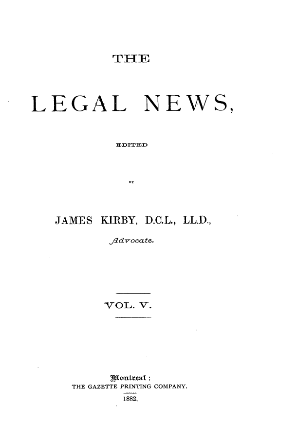 handle is hein.journals/lglnws5 and id is 1 raw text is: THE