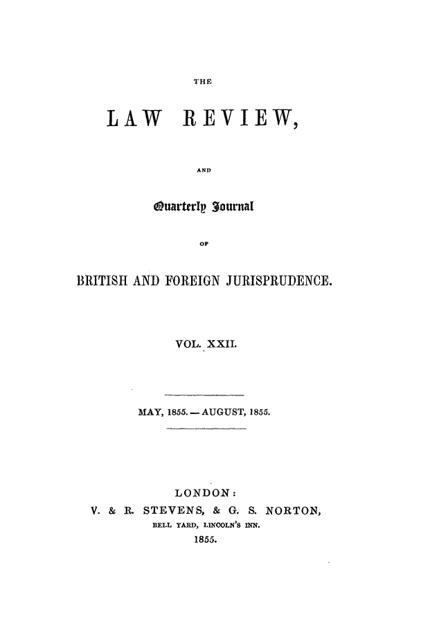 handle is hein.journals/lrqj22 and id is 1 raw text is: THE