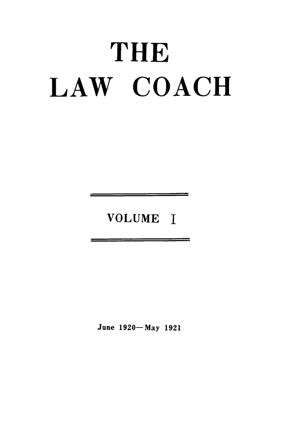 handle is hein.journals/lwcoarch1 and id is 1 raw text is: THE