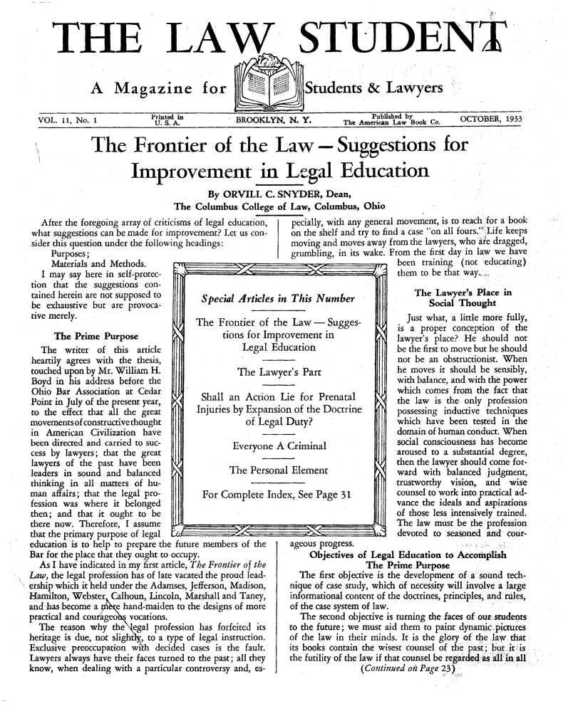 handle is hein.journals/lwstud11 and id is 1 raw text is: LA