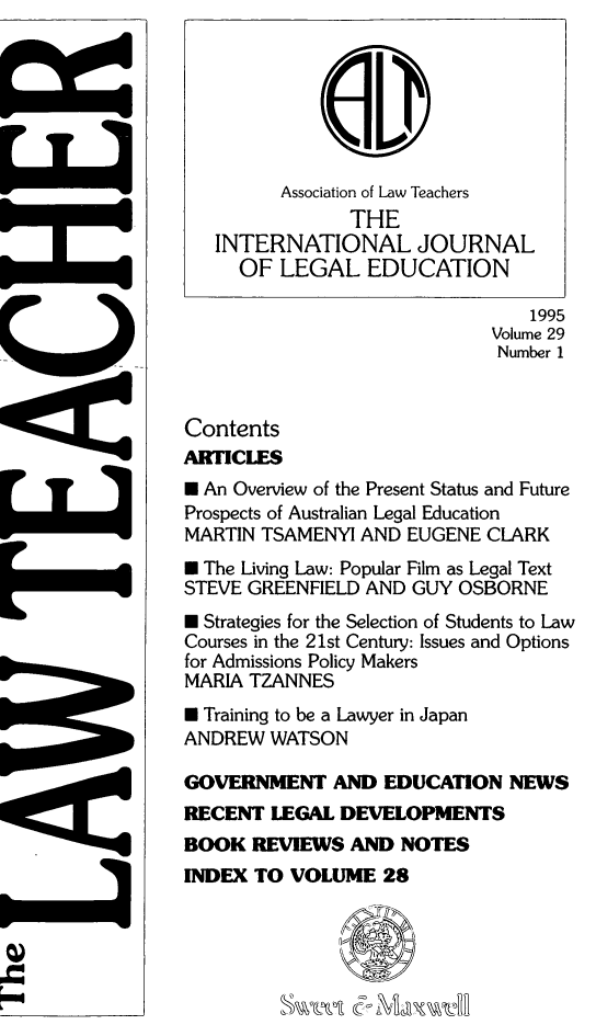handle is hein.journals/lwtch29 and id is 1 raw text is: 
