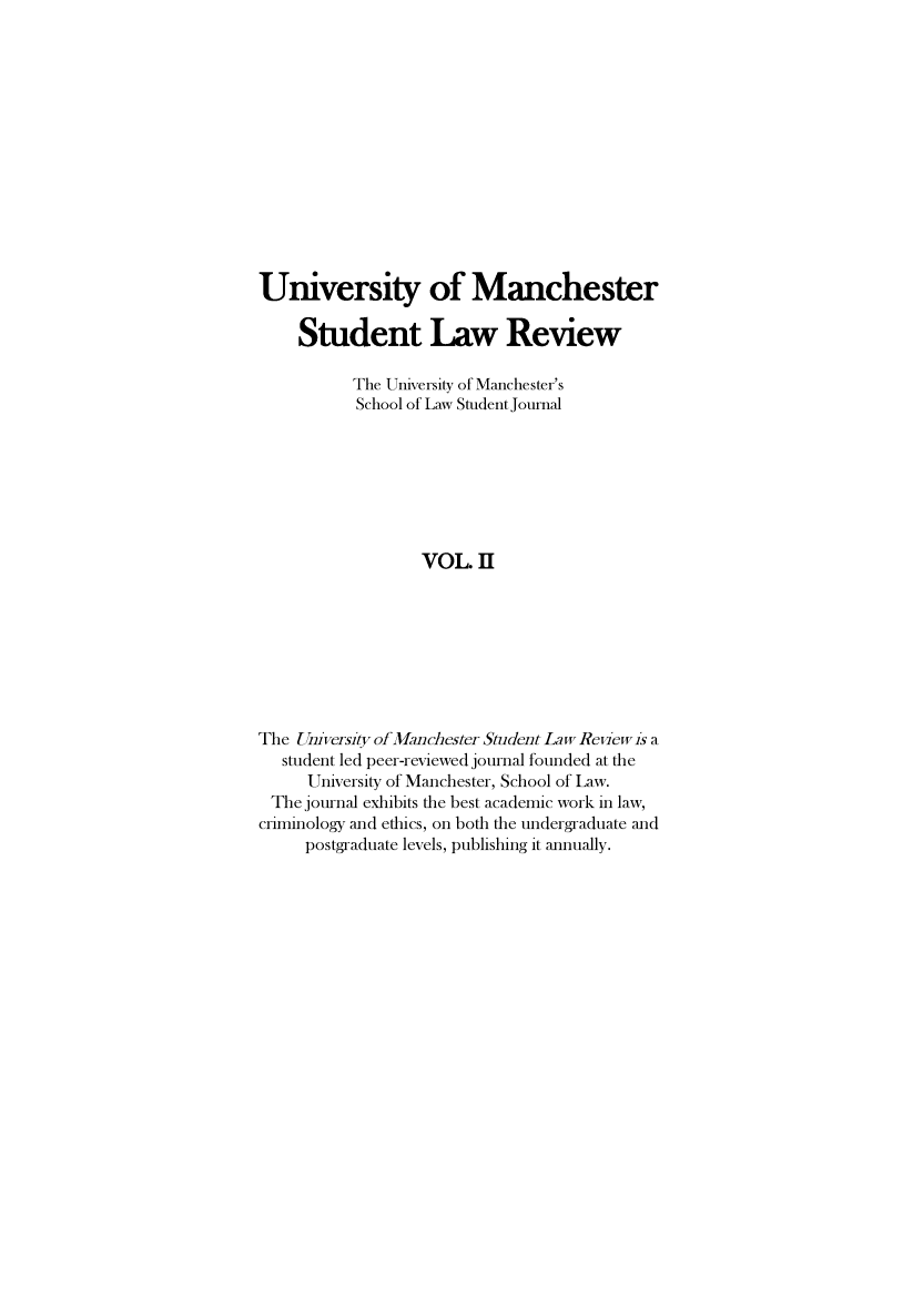 handle is hein.journals/manrvlce2 and id is 1 raw text is: 