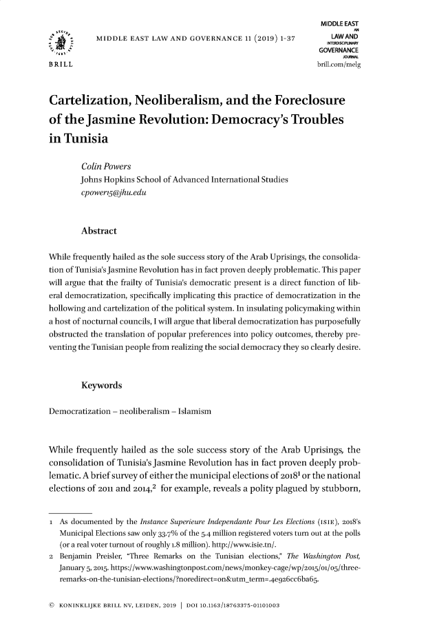 handle is hein.journals/measterna11 and id is 1 raw text is: 