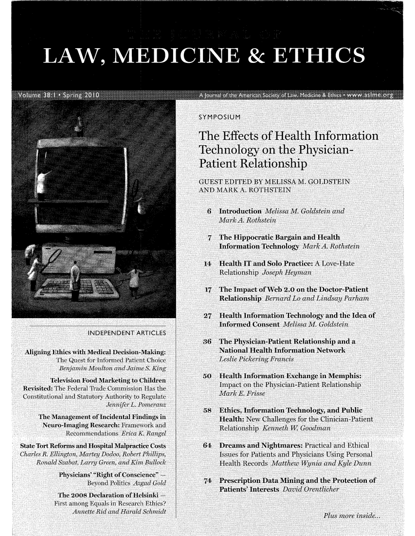 handle is hein.journals/medeth38 and id is 1 raw text is: A                  a: