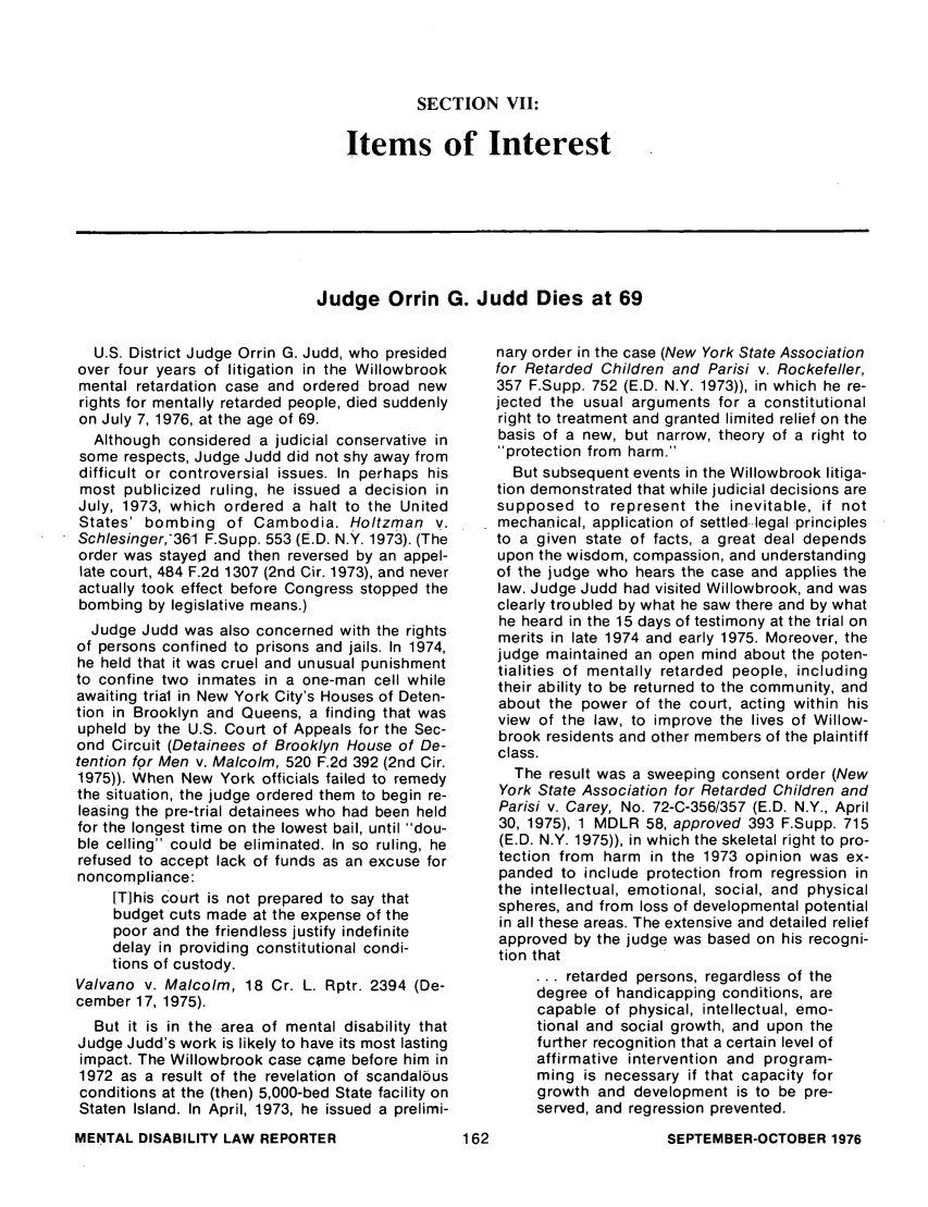 handle is hein.journals/menphydis1 and id is 164 raw text is: SECTION VII: