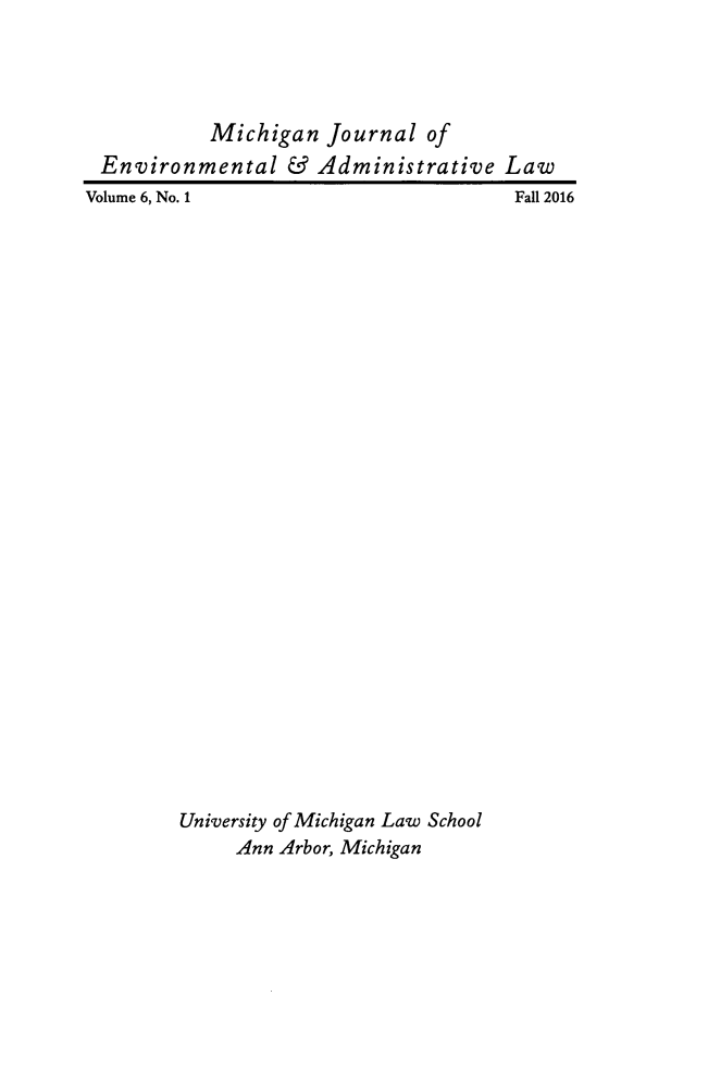 handle is hein.journals/michjo6 and id is 1 raw text is: 
