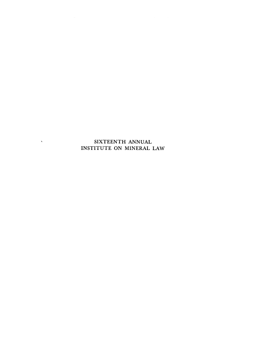 handle is hein.journals/mineral16 and id is 1 raw text is: SIXTEENTH ANNUAL