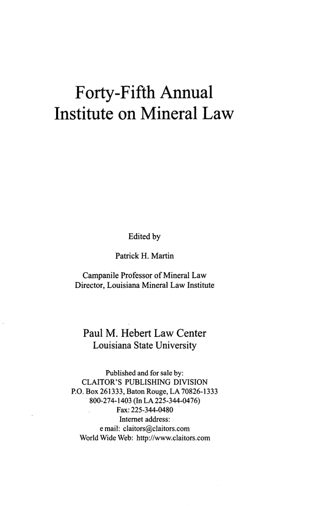 handle is hein.journals/mineral39 and id is 1 raw text is: Forty-Fifth Annual