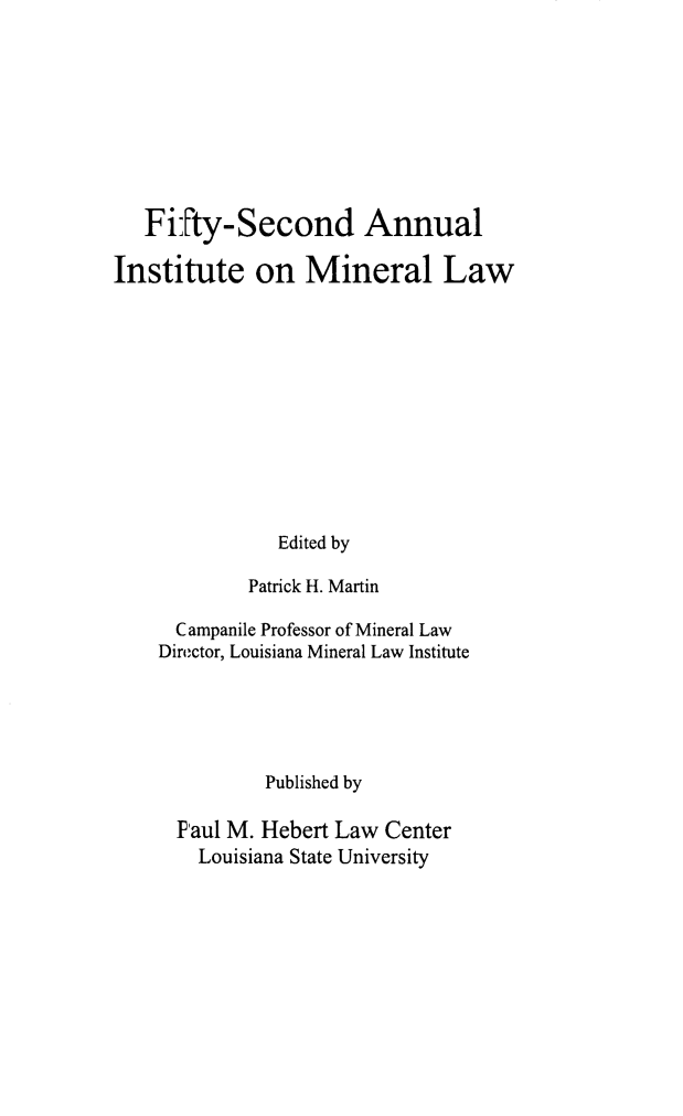 handle is hein.journals/mineral46 and id is 1 raw text is: Fifty-Second Annual