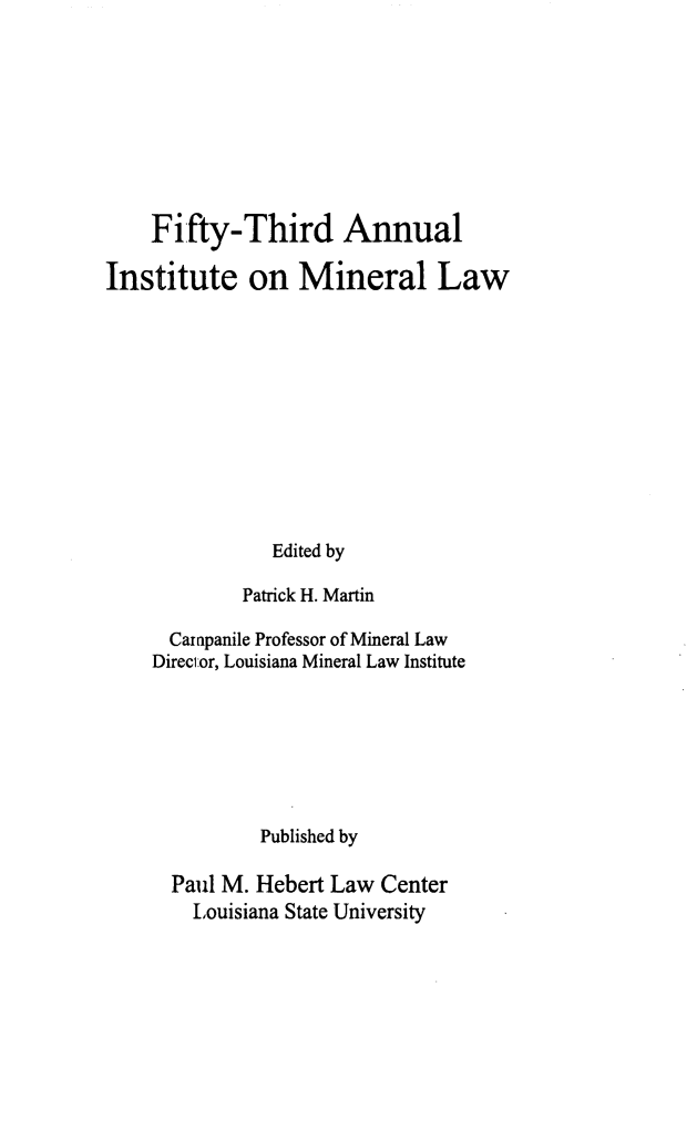 handle is hein.journals/mineral47 and id is 1 raw text is: Fifty-Third Annual